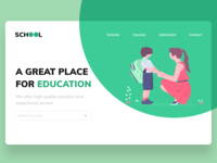School Website Concept