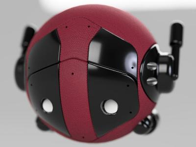 Deadpool Droid deadpool fusion360 droid
