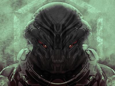Demon scifi render 3dcoat concept art 3d art