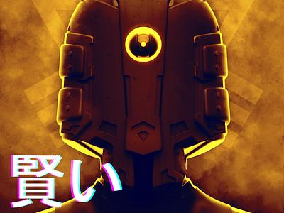 Visor scifi concept art 3dcoat 3d art render
