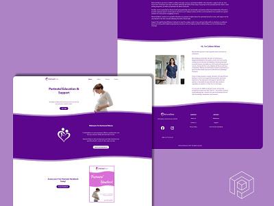 Nurtured Mums Website ui nextjs web development web design