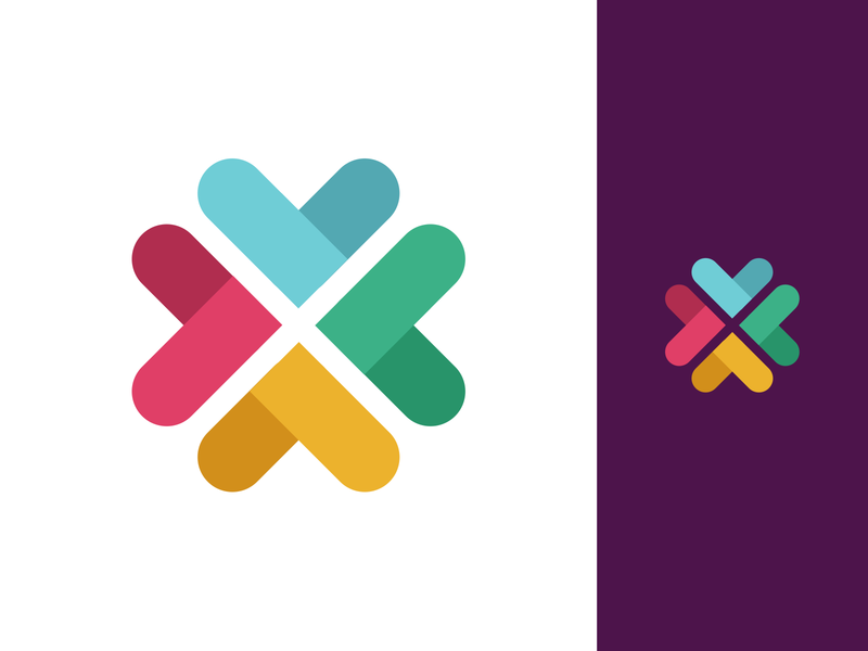Slack New Logo Rebranding, take #2 branding re-branding bold strong clean contrast standout brand identity redesign rebrand refresh new fresh logotype mark symbol work collaboration tool chat app