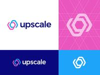 Upscale Analytics Logo Concept