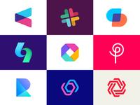 Best nine Dribbble logos of 2019