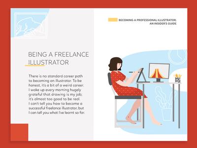 Becoming An Illustrator design ukraine interface web vector editorial illustration