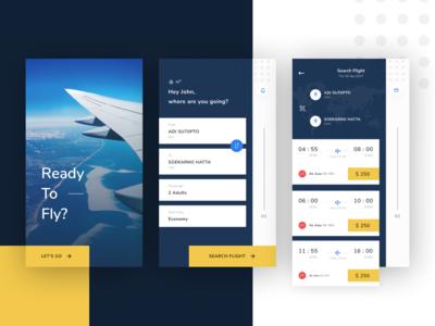 Flight Booking Concept booking clean energy flight exploration figma ios app uxdesign uidesign