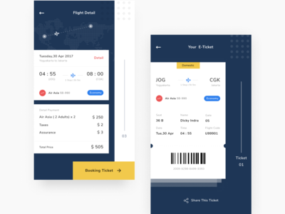 Flight Booking Concept clean figma exploration rebound flight booking design app ios ux design ux ui