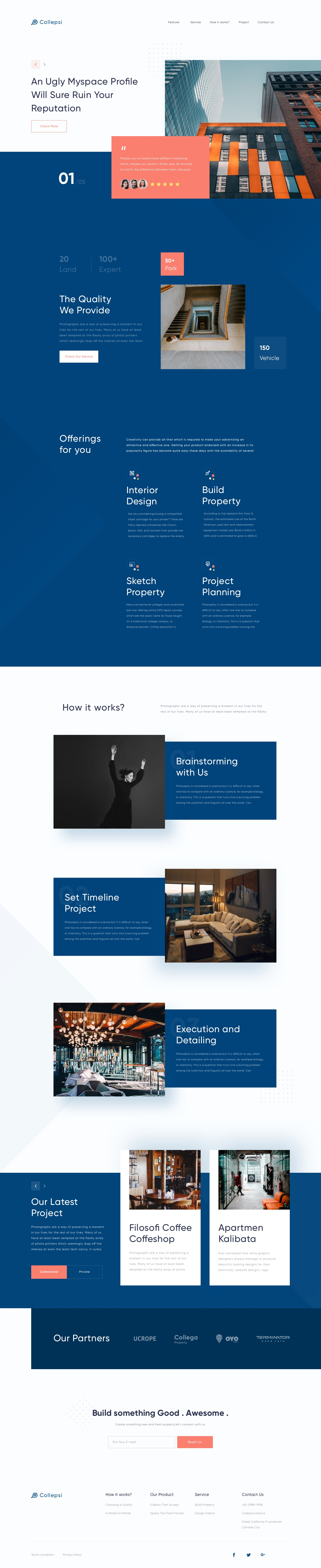 Home property full page