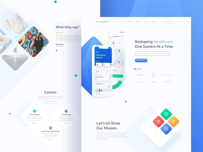 Redesign  Concept - CoviderHealth Website