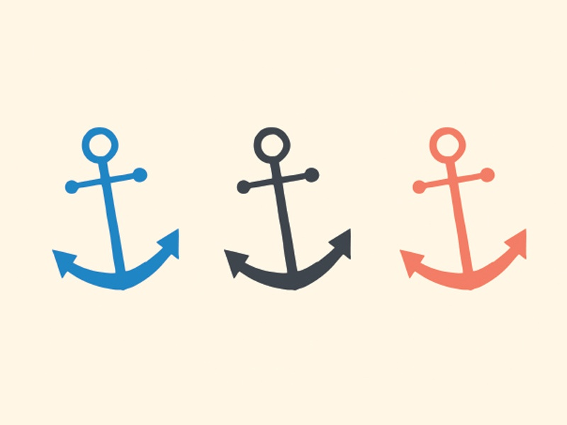 Anchors dribbble