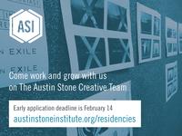 ASCC Creative Team Residency