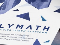 Follow All PolyMath - World Blockchain Forum (Event Flyer)