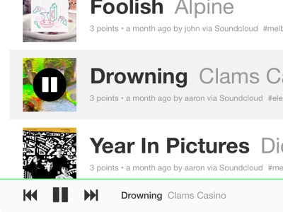 Slime Beta music web app