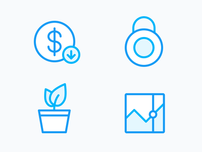 Clover Icons figma illustration icons