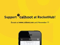 Calhoot RocketHub Campaign