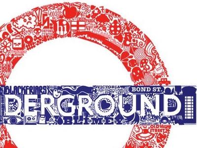 London Underground Doodle