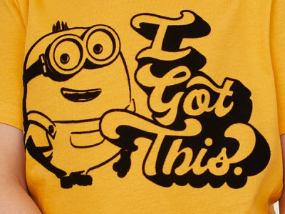 Minions x H&M Kids Collection tee design tee flock t-shirt the rise of gru otto despicable me minion minions