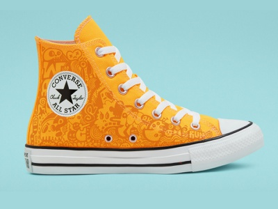 wotto x Converse all stars doodles footwear custom sneakers shoes sneakers converse