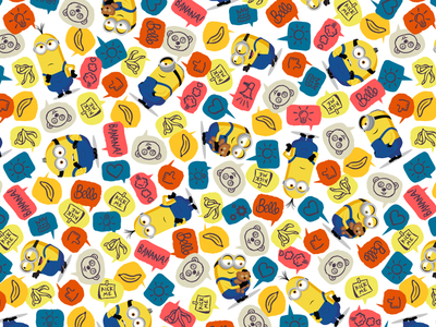 Minions 2 Style Guide pattern creative direction design style guides the rise of gru minions