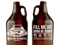 BrewLink Growlers