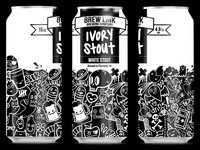 Ivory Stout Can Design