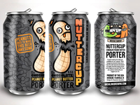 BrewLink Nuttercup Can Design