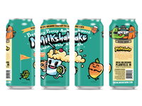 Milkshake IPA - Can Design