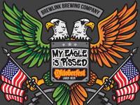My Eagle Is Pissed Lager - Can Detail