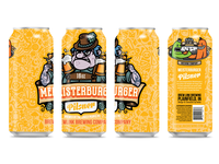 Meisterburger Pilsner - Can Design