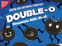 Double O Chocolate Milk Stout - Can Detail