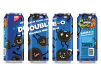 Double O Chocolate Milk Stout - Can Design