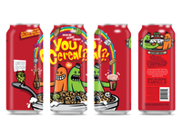 You Cereal? Ale brewed with Marshmallows - Can Design