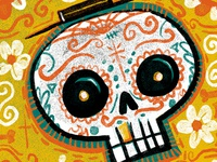 Day of the Dead brush test