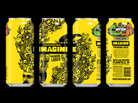 Imagine Lager - Final Can Design