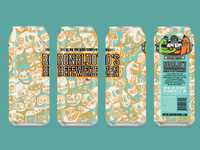 Ronaldo's Hefeweizen - Final Can Design