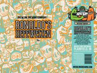 Ronaldo's Hefeweizen - Can Design