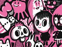 Pink Doodles