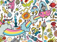 Minions Interactive Coloring Wall