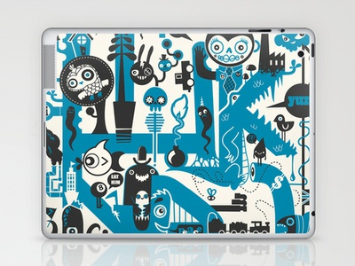 Incognito ipad iphone design illustration vector cute characters monsters cool art street art landscapes