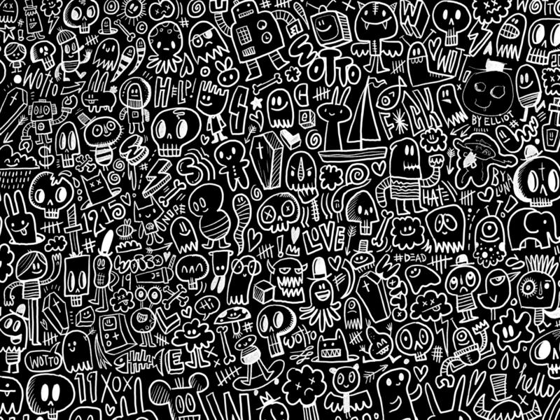 Vans x wotto custom pattern branding character illustration wotto vector design character design skateboarding characters doodles doodle backpacks shoes skate vans
