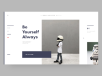 Minimal Style | Landing Page