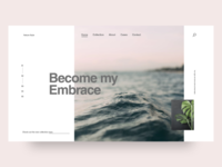 Nature Style   Landing Page