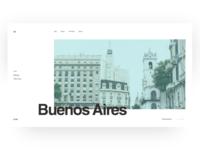 Buenos Aires | Hero UI