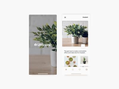 Unsplash | Concept UI