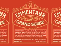 Grand Suisse Emmentaler Label