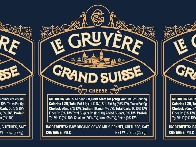 Grand Suisse Gruyère Label