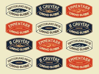 Responsive Cheese Logos