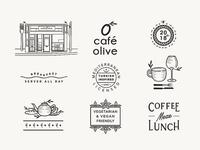 Cafe Olive Menu Assets