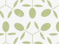 Cafe Olive Menu Pattern pattern assets art concept design branding identity illustration vegan vegetarian cafe menu