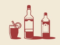 Cocktail Menu Branding